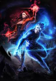avengers age of ultron 2015 wallpapers quicksilver and scarlet witch concept art for avengers age of