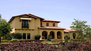 Spanish Mediterranean Homes Spanish Style House Exterior Paint Colors Youtube