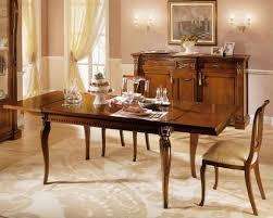 tavoli per sale da pranzo tavolo allungabile in legno per sale da pranzo classiche idfdesign