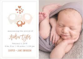 birth announcements birth announcements 40 designs basic invite baby