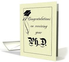 phd congratulations card phd congratulations graduation card personalize any greeting