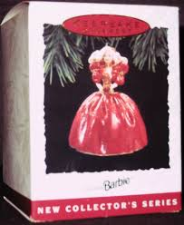 amazon com qx5725 1993 holiday barbie 1st hallmark keepsake