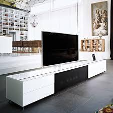 Mobile Divisorio Bifacciale by Mobile Porta Tv In Vetro Satinato Cocoon Arredaclick