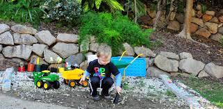 Fun Backyard Landscaping Ideas A Rock Play Garden Be A Fun Mum