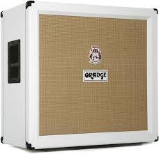 12 guitar speaker cabinet orange ppc412 white 4 x 12 celestion vintage 30 straight guitar