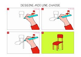 apprendre à dessiner une chaise en 3 é