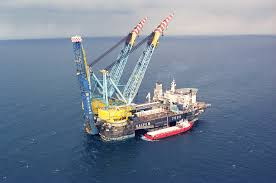to lay first line of south stream offshore gas pipeline