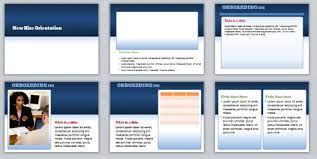 the rapid e learning blog powerpoint elearning template demo
