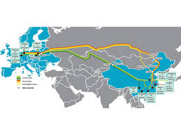 Rail Map Of Europe by Ups Adds Six Cities To China U2013 Europe Rail Freight Network