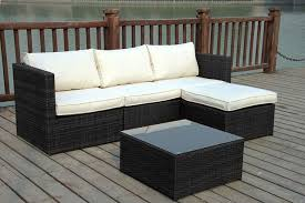 Outdoor Rattan Corner Sofa Rattan Garden Corner Sofa Set For 299 Home U0026 Garden Furniture Deals
