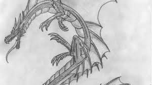 pencil drawing dragons drawing pencil