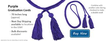 graduation cord purple honor cords from honors graduation