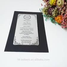 Wedding Invitation Cards In Nigeria Mirror Acrylic Invitation Mirror Acrylic Invitation Suppliers And