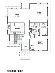 Floor Plan Of Modern Family House Modern Style House Plan 3 Beds 2 00 Baths 2554 Sq Ft Plan 496 20