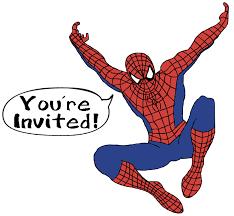 make meme with spider man birthday clipart