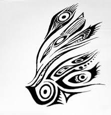 tribal peacock wing by blakskull on deviantart