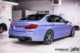 matte bmw bmw m5 in matte metallic powder blue phenomenalvinyl