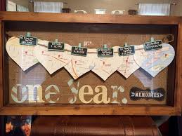 five year wedding anniversary gift ideas best 25 one year anniversary ideas on one year