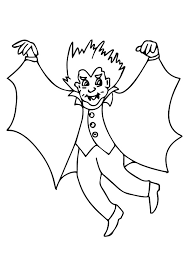 vampire coloring pages kids printable coloringstar