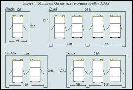 size of 2 car garage minimum garage size justinlover info