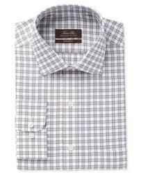 tasso elba men u0027s classic fit tattersall dress shirt only at
