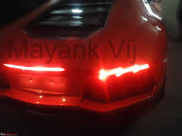 Lamborghini Aventador Tail Lights - lamborghini aventador lp700 4 in india page 8 team bhp