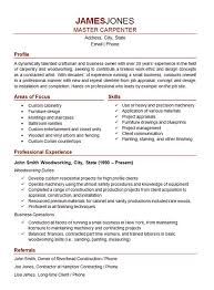 carpenter resume resume carpenter resume template 9 free samples