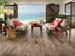 Closeout Laminate Flooring Bruce Distressed Sea Scrape Natural Oak Click Together 12mm