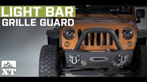 jeep light bar grill jeep wrangler 2007 2017 jk off camber fabrications by mbrp light
