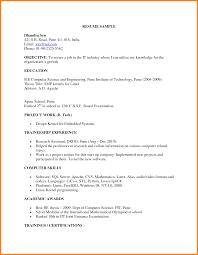 Teacher Job Resume Format Fresher Resume Template Resume For Your Job Application