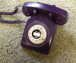 Make Purple Paint Purple Rotary Phone 4 Steps With Pictures