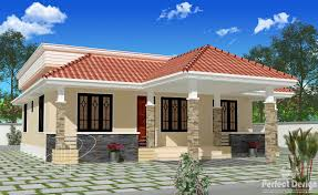 Kerala House Single Floor Plans With Elevations Modern House Plans Hillside U2013 Modern House