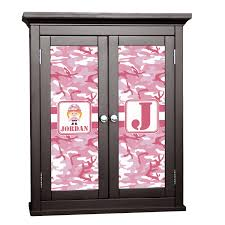 Pink Camo Bathroom Pink Camo Cabinet Decal Custom Size Personalized Potty
