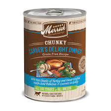 merrick chunky carver u0027s delight dinner canned dog food petco