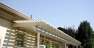 Lattice Awning Combining Lattice U0026 Solid Patio Cover Roofs Will Greatly Increase