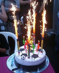 sparkler candles for cakes 6 candles cake big birthday candles 6 pack