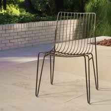 Hairpin Legs Los Angeles by Black Metal Amara Hairpin Stacking Chairs Set Of 2 Metal Chairs