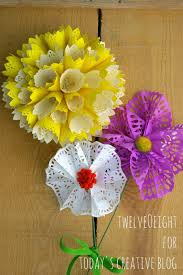 Make Flower With Paper - diy paper doily flowers paper doilies diy paper and paper flowers