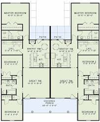 4 Bedroom 2 Bath Houses For Rent by Best 25 Duplex House Plans Ideas On Pinterest Duplex House