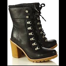 ugg s boots size 11 70 ugg shoes ugg fabrice black leather lace up ankle boots