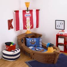 little tikes pirate 4 piece toddler bedding set walmart com