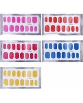 amazing deal on bmc glow in the dark nail polish art stickers 10