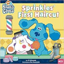 buy sprinkles u0027 haircut blue u0027s clues book