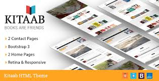html5 templates for books kitaab book store html5 template retail