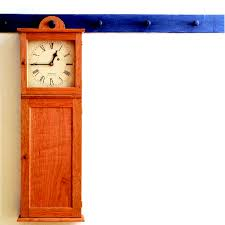 Free Wooden Clock Plans Download by Free Plan Shaker Wall Clock Finewoodworking