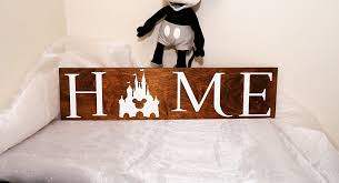 Disney Home Decorations by Amazon Com Disney Home Sign Home Sign Disney Sign We Do Disney