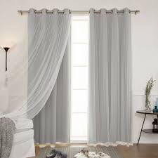 grey curtains u0026 drapes shop the best deals for oct 2017
