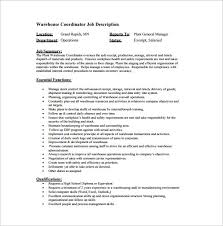 Warehouse Job Duties For Resume by Warehouse Manager Job Description Ups Resume On Cracks And