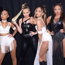 little mix show little mix girl group rocks fierce outfits during performance at