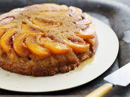 easy cake mix peach upside down cake recipe